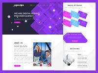 Agen.Pro  Agency  Landing Page