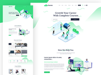 Coursa   Education And Lms Psd Template