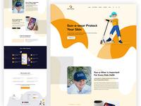 Sun Skin Device Care Home Page Web Ui V1