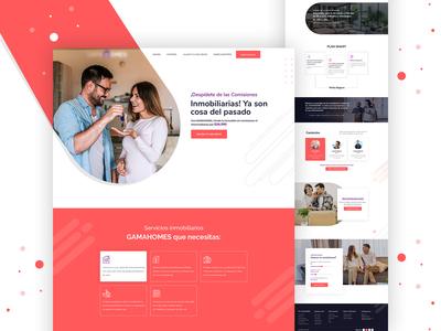 Home Property Management Website Design