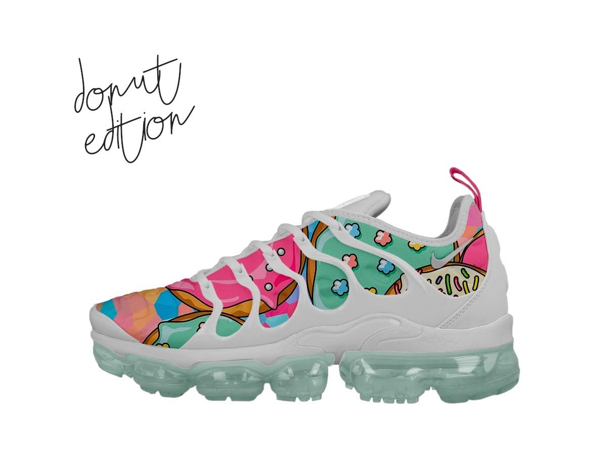 Nike vapormax concept design vapormax sneakerhead shoes photoshop nike illustration donut custom design custom concept