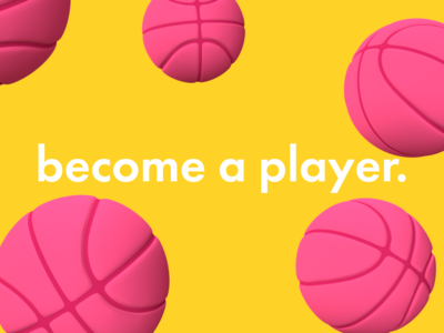 Wanna be a player?