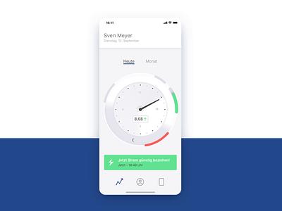 App prototype: Pulse–the heartbeat of your house smart home digital product concept app design ui ux data science data vizualisation mobile ios design product design prototyping app