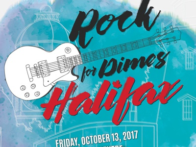 Rock for Dimes Halifax 2017