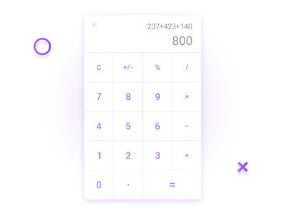 Calculator (Daily UI)