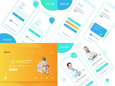 2018 app illustration dailyui doctor ios mobile ganesha 2019 2018