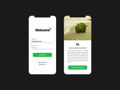 Mobile Apps UI Design