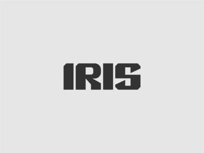 IRIS typeface