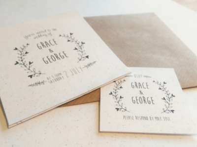 Invites on beer paper! bier paper beer gmund kraft paper print design invites wedding invites wedding