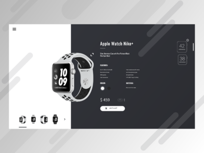 iWatch Product Card