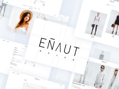 Enaut   Fashion Website