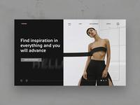 FRWRD fashion page