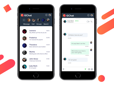 Chat Screen app chatapp direct message message messages messager message app chat