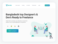 Landing Page For Desi Marketplace