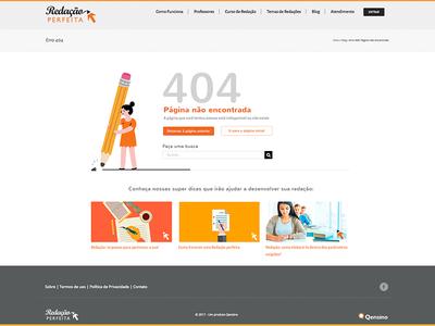 404 Redação perfeita 404