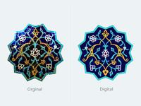Iranian old tile