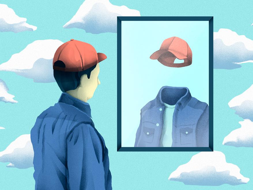 No Identity illustration
