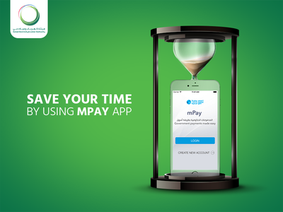 Save Your Time dubai online pay app mobile clock time save photo manipulation art direction advertising