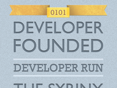 Developer Founded