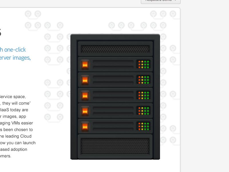 Server Rack - WIP server illustration photoshop vector shapes layer styles