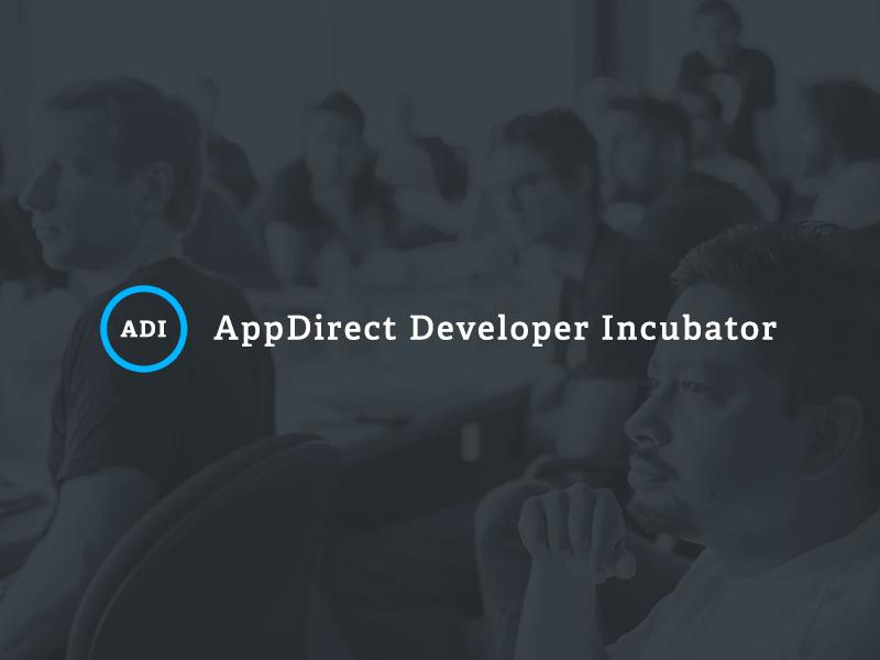 AppDirect Developer Incubator appdirect adelle blue desaturated