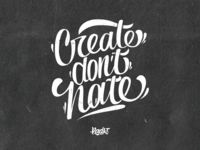 CreateDontHate