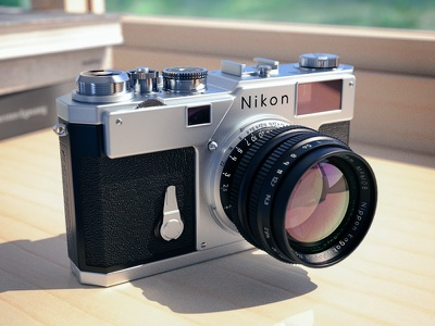 Nikon S3 Render 3d render maxwell camera nikon s3 cinema4d c4d