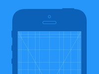 Iphone app grid preview