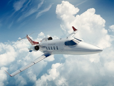 Private Jet Render 3d render private jet jet flying aviation aircraft airplane cinema4d c4d
