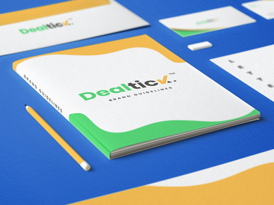 DealTick Stationary Mockup