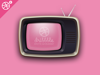 4 Dribbble Invites Giveaway!