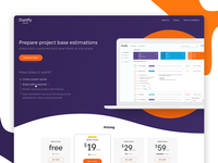 Quotify landing page