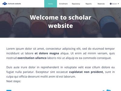 Scholar website