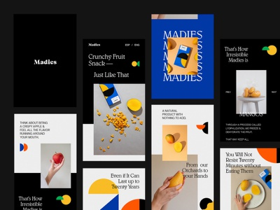 Madies — Mobile uidesign interface design web design ui web typography artdirection design uiux website mobile ui mobile