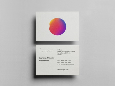 Franpos — Cards print design businesscard card typography logo identity brand identity design brand design branding brand