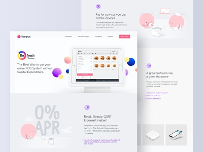 Franpos - Website website concept website design desktop design website illustration identity brand identity design brand design brand branding