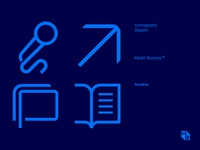 Iconography System for Modrn Businss®