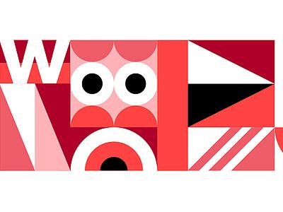 Wellcome — Pattern geometry mosaic puzzle pop grid pattern illustration red minimalism minimal corporate identity visual identity branding design brand identity brand design branding brand coliving wellcome mbrt