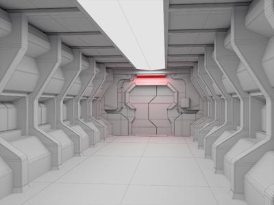 Dead Space Corridor