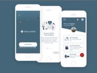 Reliance HMO Mobile App Concept Redesign