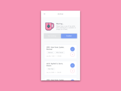 Hairstylist Booking - Agent
