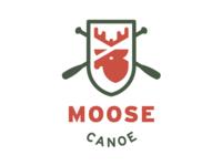 Moose Canoe Badge