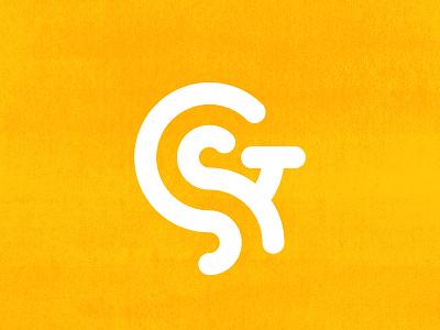 G + S   Logo Concept   001 minnesota white yellow texture sullivan matt geometric design icon concept logo s g