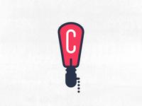 C + Lamp | Logo Concept | 002