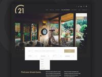 Century21 | Real Estate Landing page