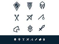 Full Medieval Icon Set