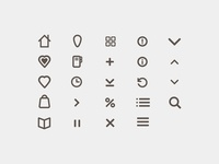 Bookloft Icon Set