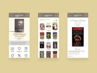 BookLoft Mobile Screens