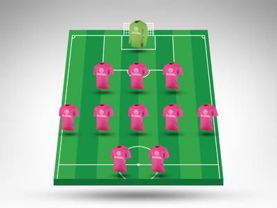Join the Dribbble Fantasy Football Mini League dribbble fantasy football soccer premier league mini
