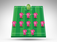 Join the Dribbble Fantasy Football Mini League